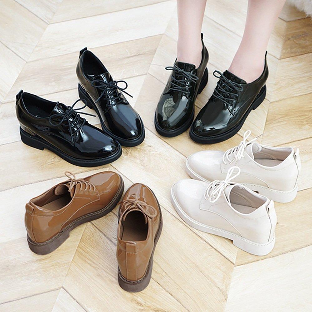 Sandalen GYHDDP Kurze Stiefel erhöht Wilde innerhalb der flachen Schuhe Wilde erhöht Einzelne Schuhe 4 Farben verfügbar Größe optional (Farbe : A, größe : 37) C c60bfd