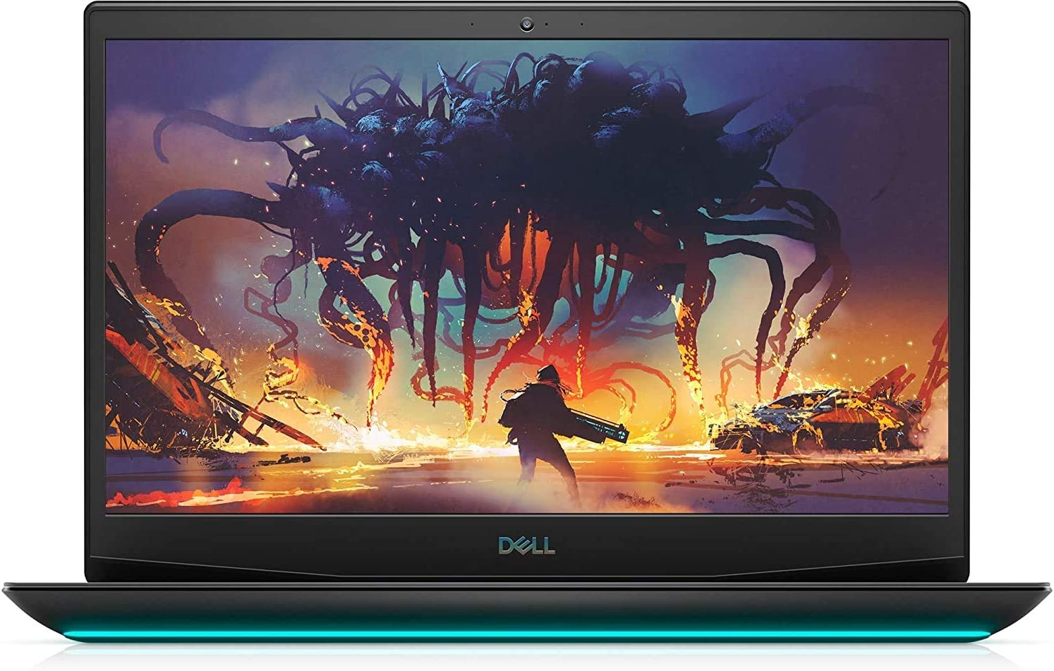 2020 Newest Dell G5 15.6'' FHD Gaming Laptop, Intel i7-10750H, NVIDIA GTX 1650Ti, 16GB DDR4 RAM, 512GB PCIe Solid State Drive, HDMI, WiFi, Backlit Keyboard Windows 10 | 32GB Tela USB Card