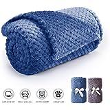 犬と猫のためのプレミアムペット毛布、フリース生地の柔らかい布団、温かいペットは小さな赤ちゃん毛布を投げる