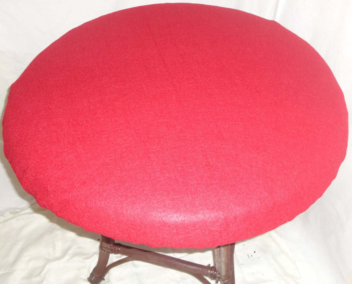 Playezze Felt Poker Table Cover for Round 36 Purple