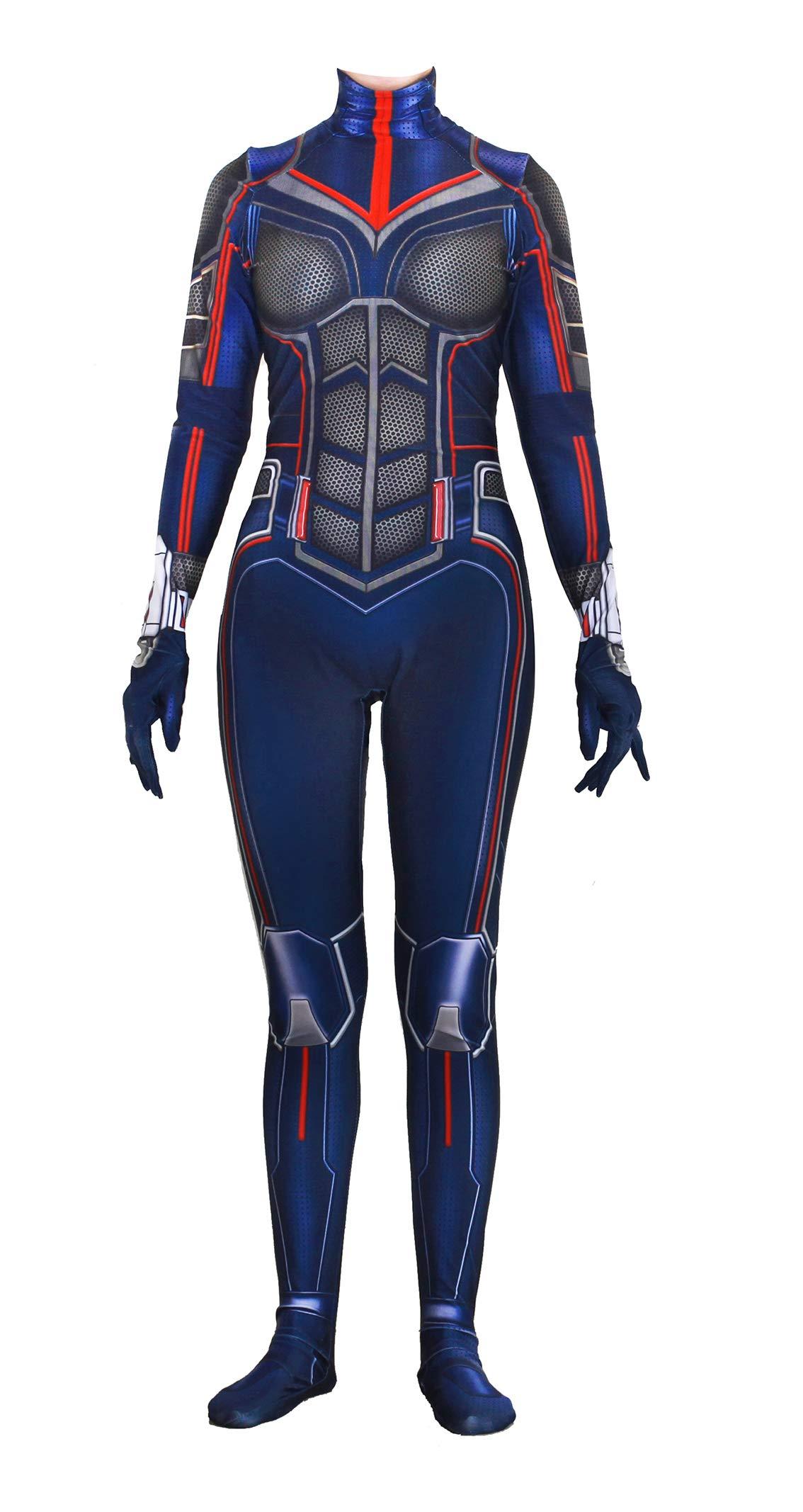 Koveinc T Shirt Superhero Costume Zentai Suit Women Kids Halloween Cosplay Costumes 71AJzVzfejL