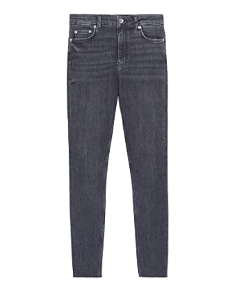 d9941538 Zara Women Jeans zw Premium midnigth Black 6840/043 at Amazon ...