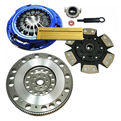 EFT STAGE 3 CLUTCH KIT & FLYWHEEL for 06-14 SUBARU IMPREZA WRX 2.5L
