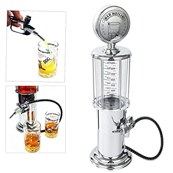 Besplore Pistola Barware Mini Beer Pourer agua líquida Bar Beber Alcohol Dispensador de Vino Bomba Dispensador Máquina - Whisky/Bourbon Decanter (pistola ...