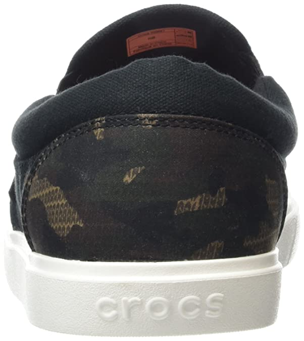 Amazon.com | Crocs Mens Citilane Graphic Slip-On Sneaker | Loafers & Slip-Ons