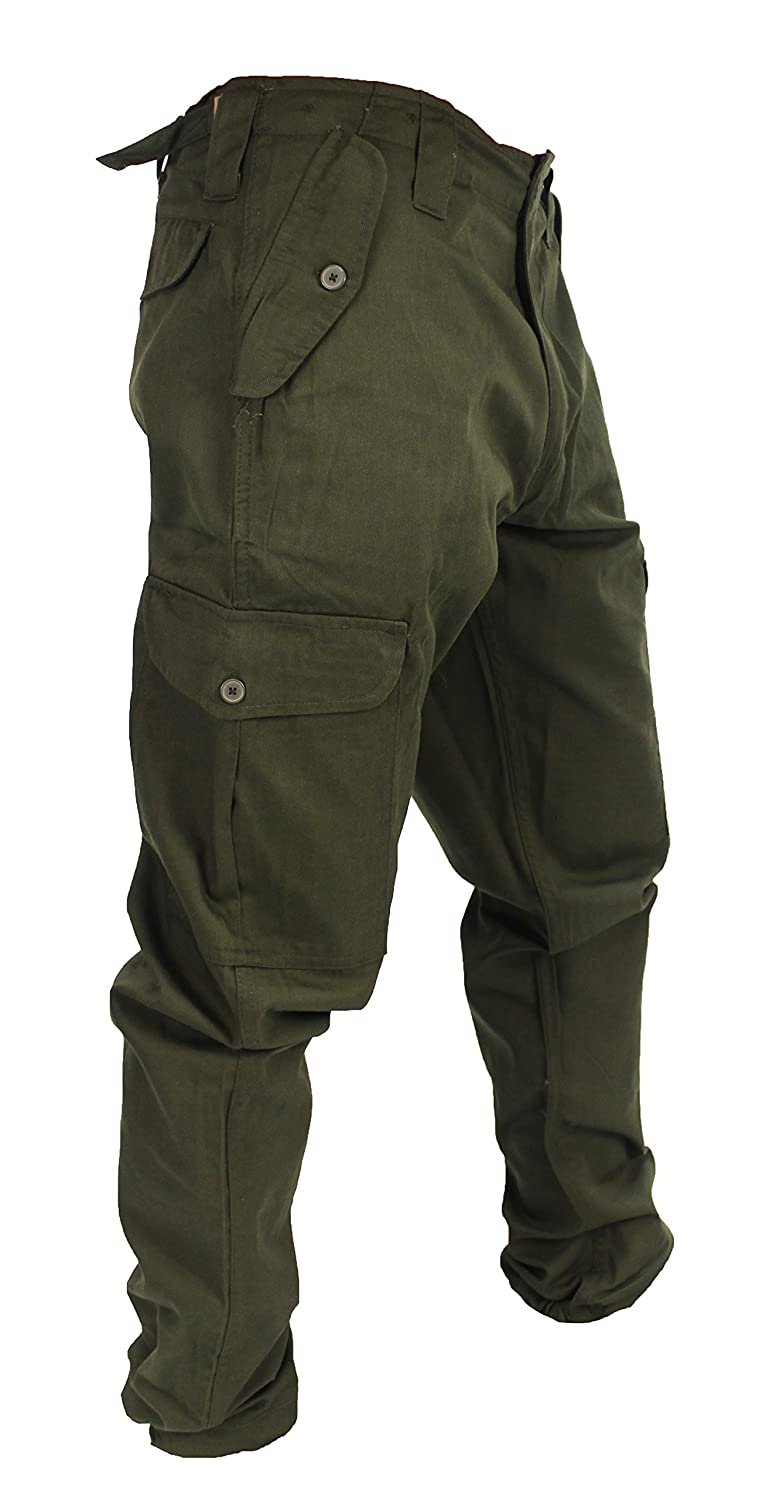 WWK / WorkWear King Mens Army Combat Cargo Work Trousers