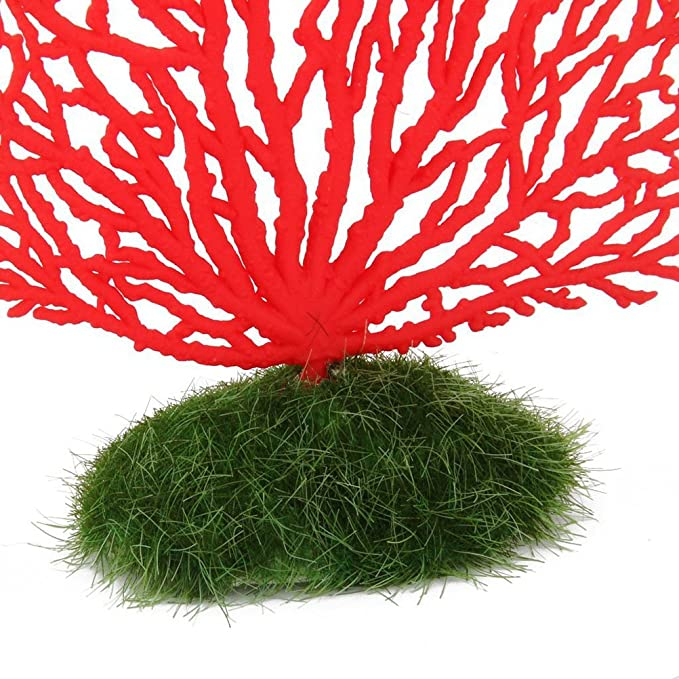 Amazon.com: VORCOOL Artificial Coral Ornament Decoration for Aquarium Fish Tank (Red): Home Improvement