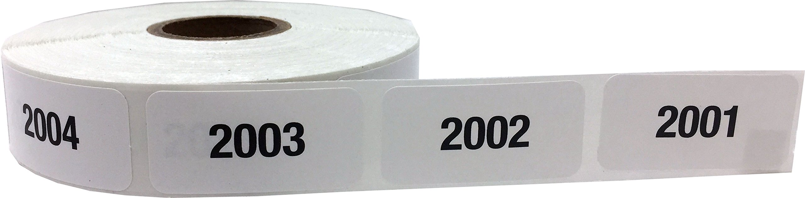 Consecutive Number Labels Bulk Pack Numbers 1 Through 10,000 White/Black .75 x 1.5 Rectangle Small Number Stickers For Inventory by InStockLabels.com (Image #5)