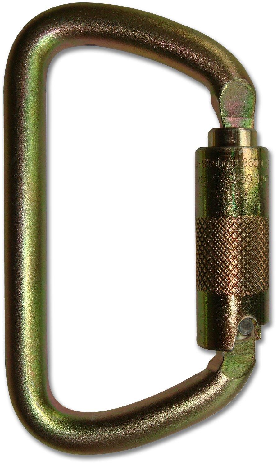 540d83be75e ProClimb USR-98-C09T NFPA D Carabiner Triple Lock