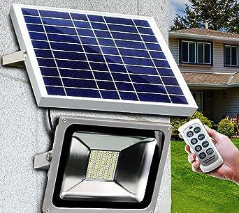 Lampe solaire LED lampe solaire pour jardin DIMM Bar Télécommande ...