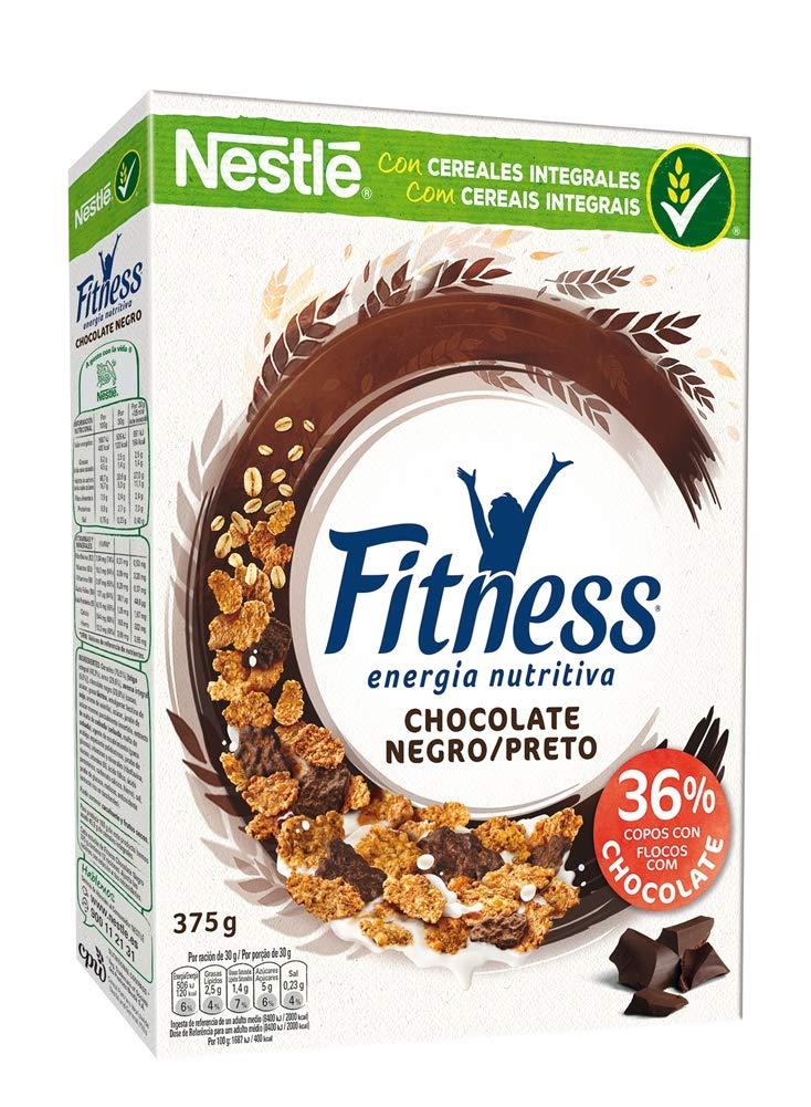 Nestlé - Fitness Chocolate Negro Cereales Desayuno 375 g: Amazon.es: Alimentación y bebidas