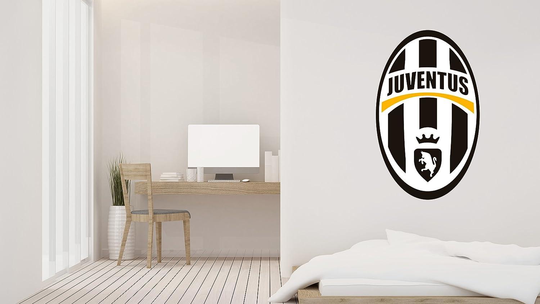 "Soccer Team - Italian FC former logo - Wall Decal Vinyl Sticker for Home Interior Decoration Bedroom, Window, Mirror, Car (15"" x 25"")"
