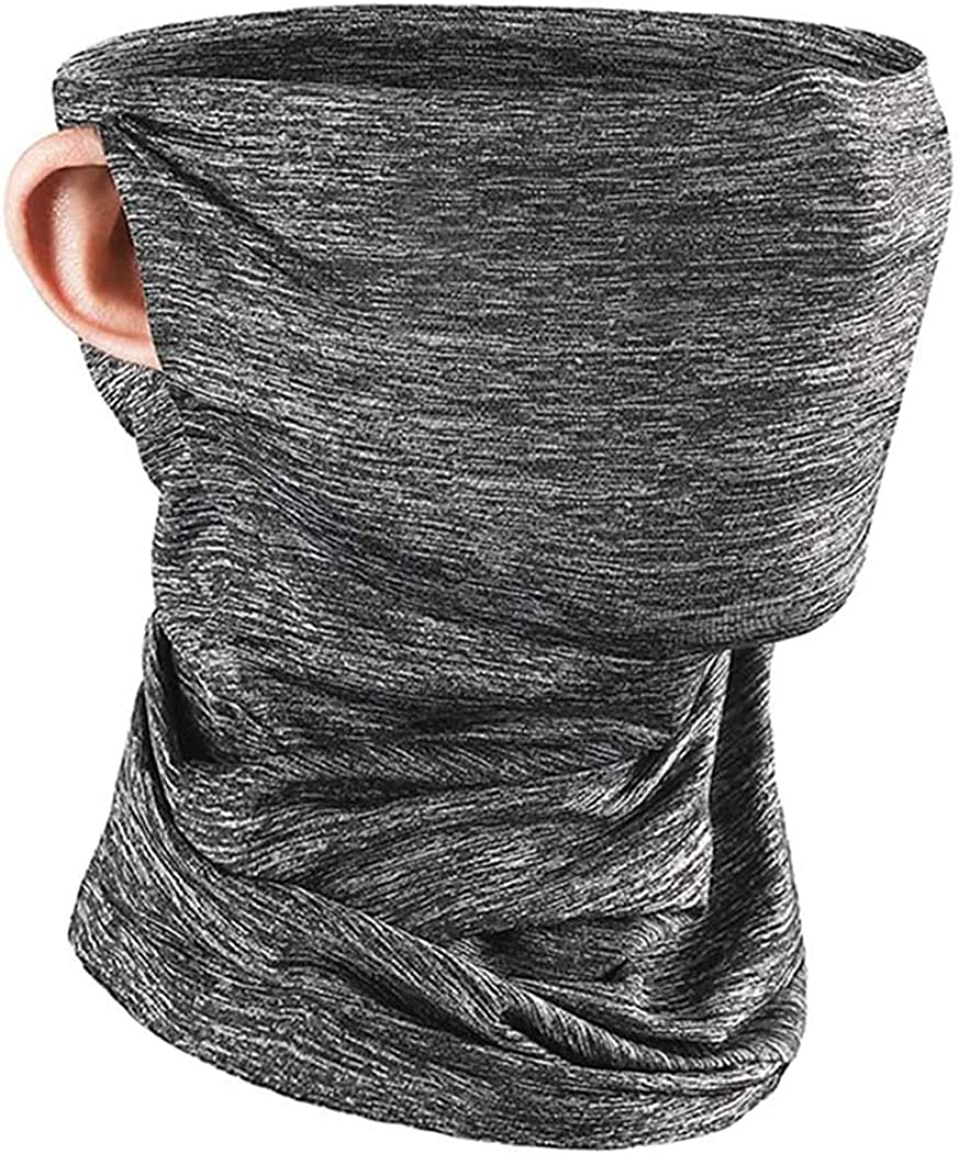 JUSTCOOL Cooling Neck Gaiter Face Mask ,UV Face Scarf Protection from Dust Bandana Balaclava Summer Breathable for Cycling Fishing Outdoors
