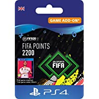 FIFA 20 Ultimate Team - 2200 FIFA Points DLC - PS4 Download Code - UK Account