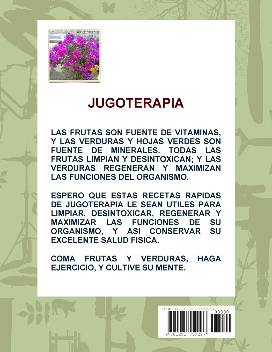Jugoterapia (Spanish Edition): Omar Ali Caldela: 9781291759297: Amazon.com: Books