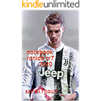 notebook ronldo cr7 2020: Football Soccer Notebooks For Boys , I LOVE CRISTIANO RONALDO , Cute School Five Star Notebook…