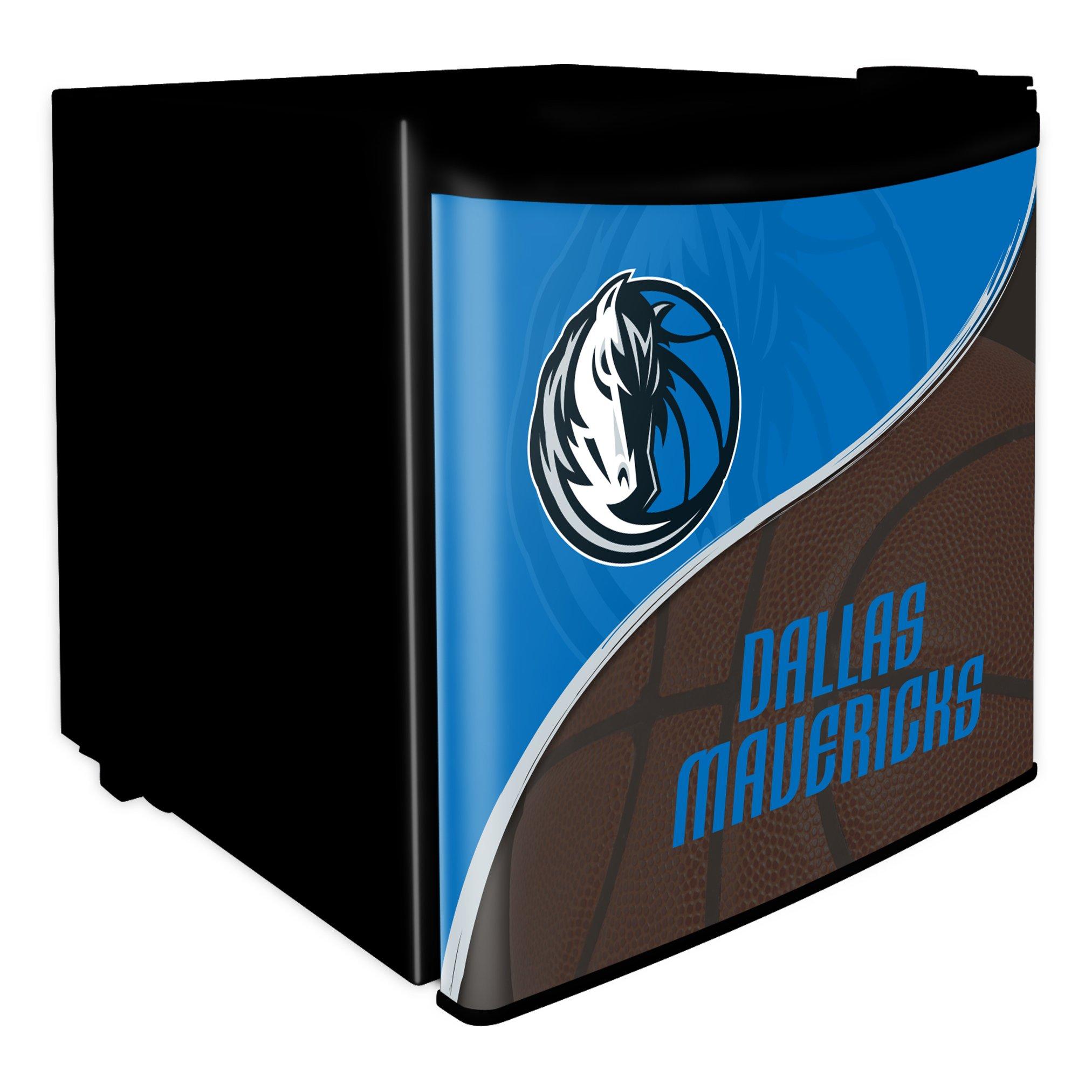 NBA Dallas Mavericks Dorm Room Fridge, 1.7 Cubic Feet