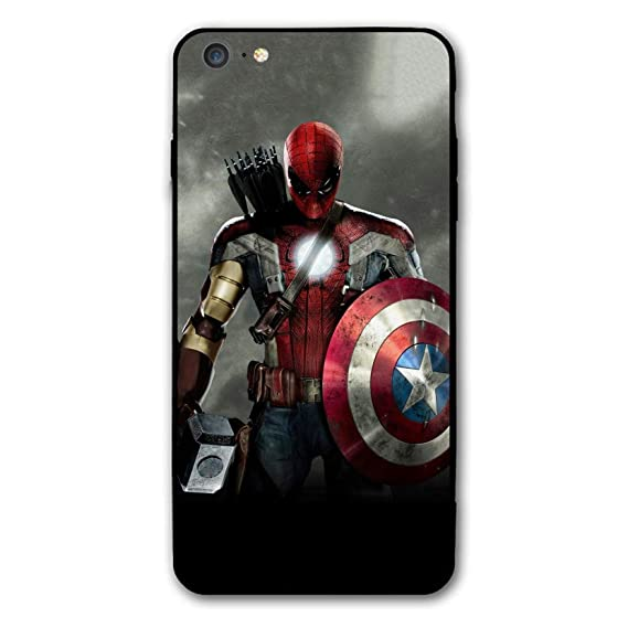 cheap for discount f57c2 6c9fd iPhone 6 Case iPhone 6s Case Endgame Comic Design Cover Cases for iPhone  6/6s (Avengers-Mix)
