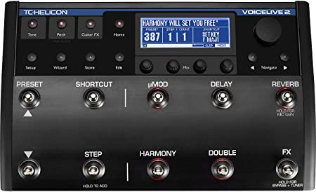 front facing tc-helicon voiceLive 2