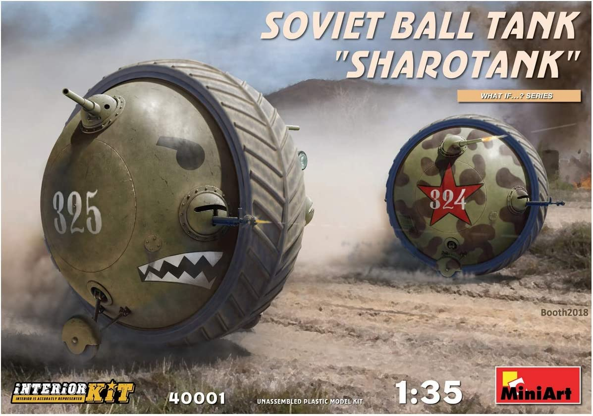 Soviet Ball Tank Sharotank Interior Kit Miniart 1:35