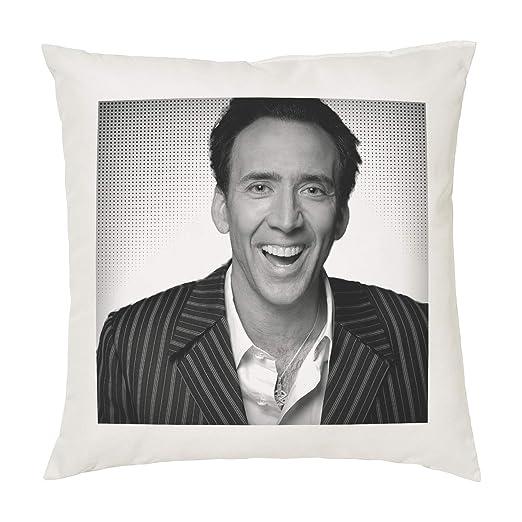 Nicolas Cage cojín almohada - 100% algodón - disponible con ...