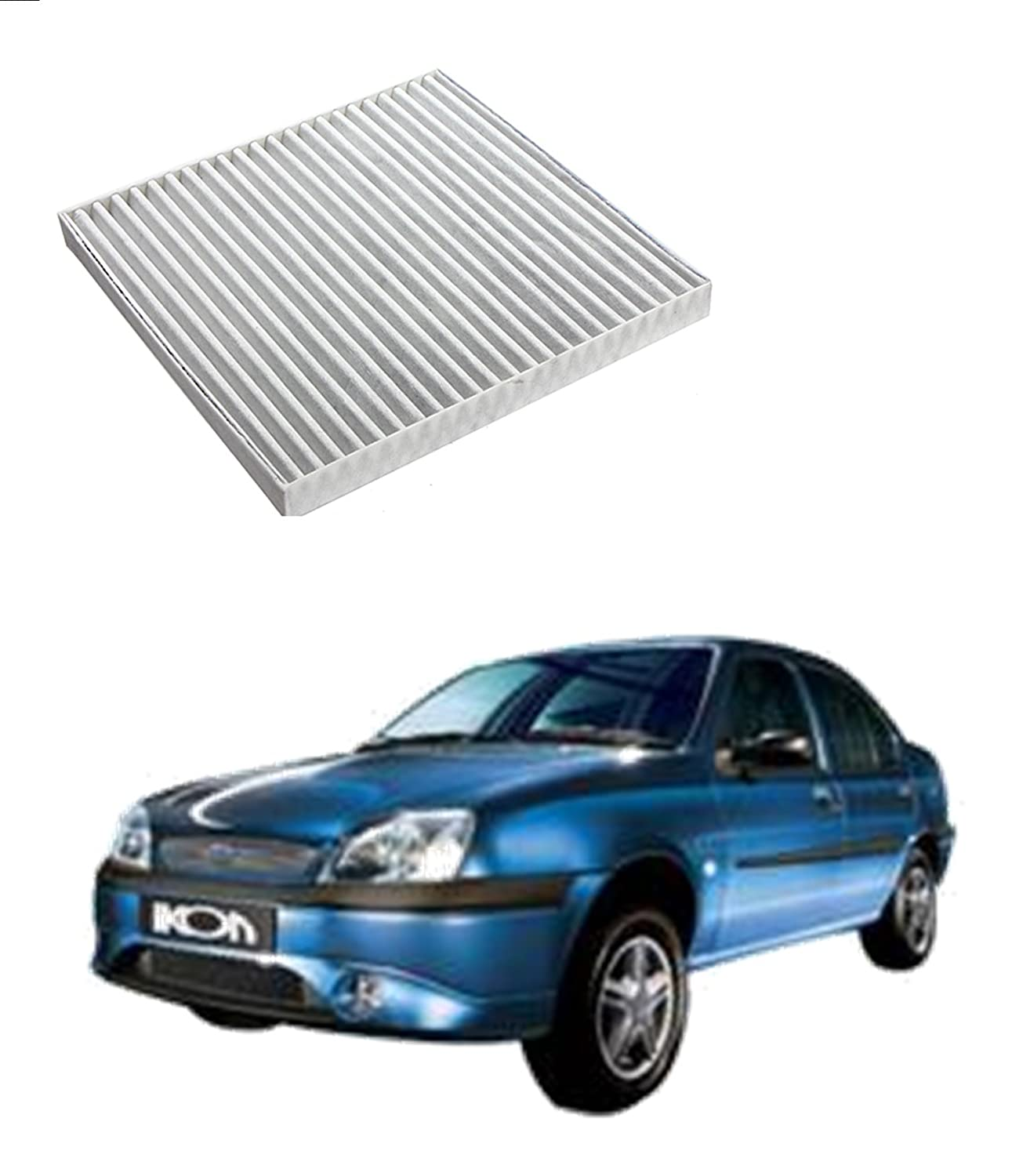 Cabin Air Filter For Ford Ikon 2004 2008 Diesel 1 8l Set Of 1 Pcs