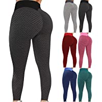 Workout Clothing SFX Hoseiry Check Jeggings Women Clothes Check Yoga Pants Best Gifts For Women And Girls