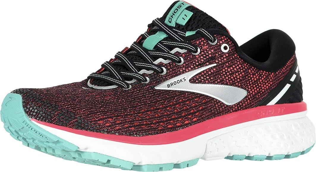 Brooks Ghost 11, Zapatillas de Running para Mujer, Multicolor (Black/Pink/Aqua 017), 36.5 EU: Amazon.es: Zapatos y complementos