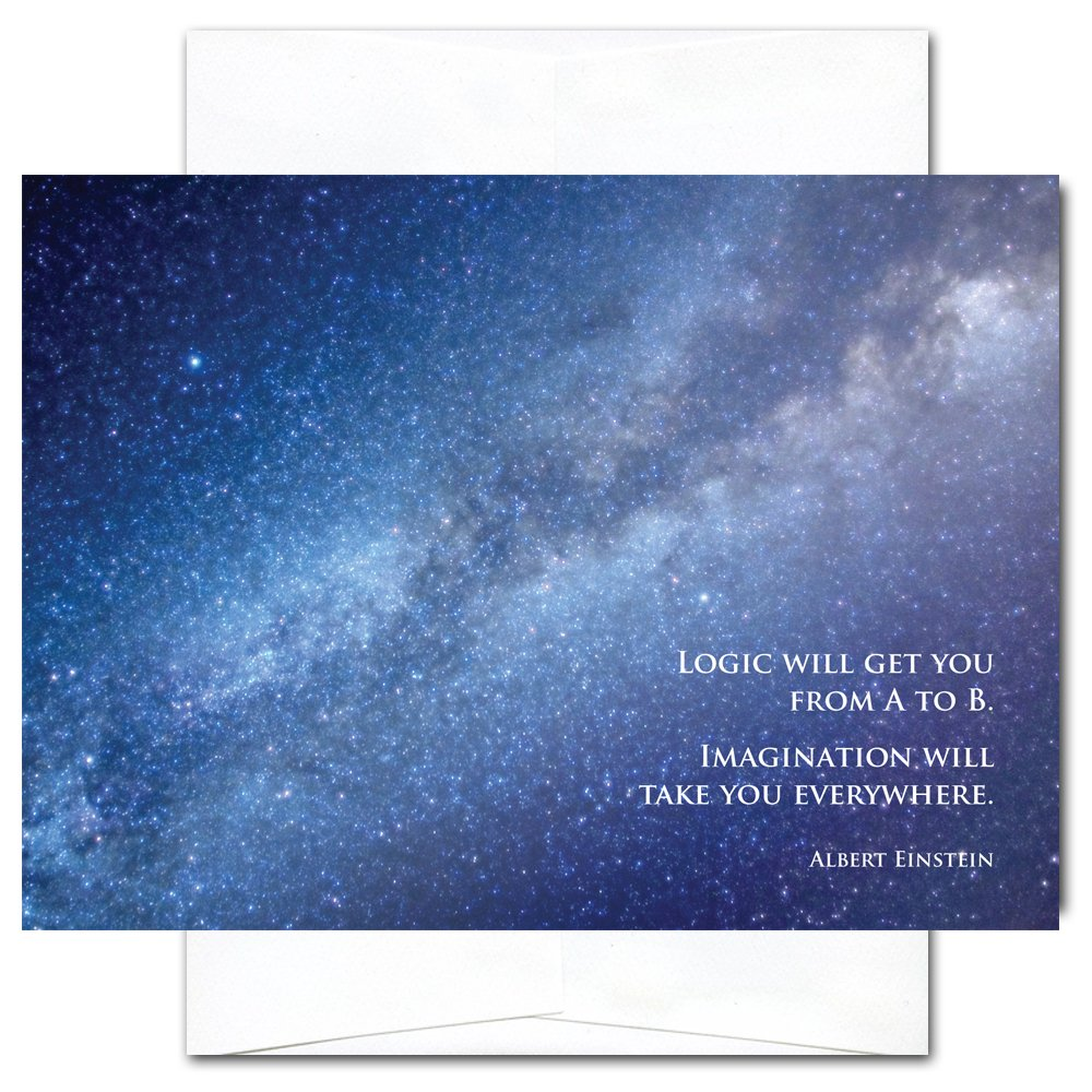 New Year Cards-Milky Way 10 Cards & Env Professional or Personal Use Made in USA by CroninCards