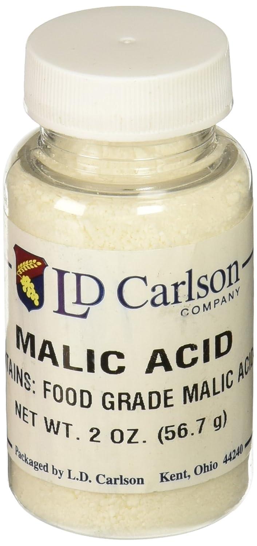 Malic Acid for Wine Making 2 oz