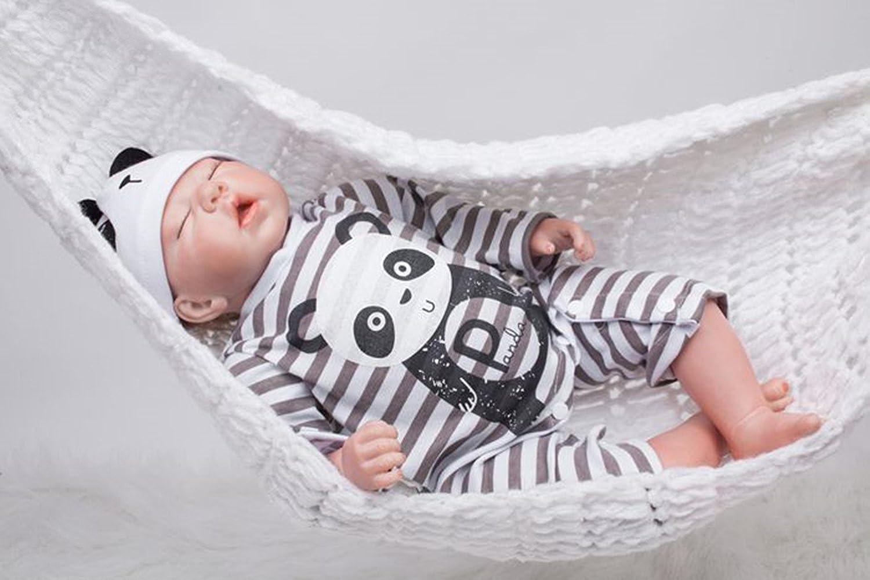 OUBL 20inch 50 CM bambole reborn maschio Silicone Vinyl realistica baby doll che sembrano vere rinato neonato boy Magnetic giocattoli regali