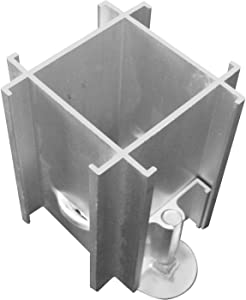 Best-Rite Standard Modular Panels, 4 Way Right Connector with Adjustable Leg (66214)