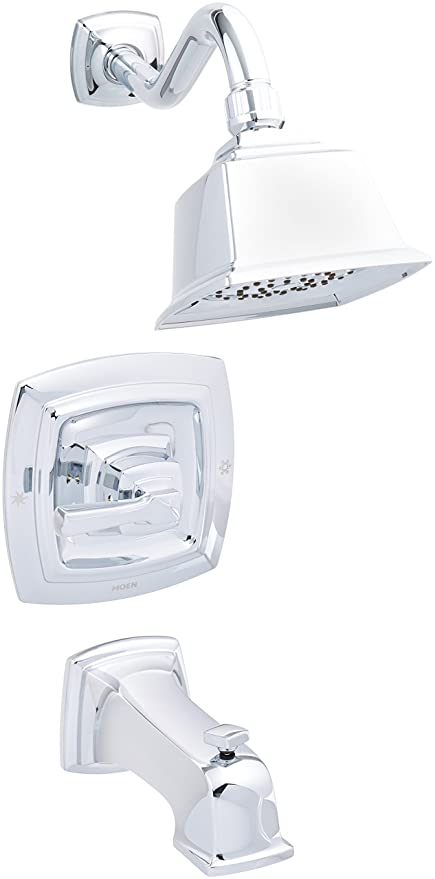 moen 82830ep posi temp pressure balanced tub and shower trim chrome