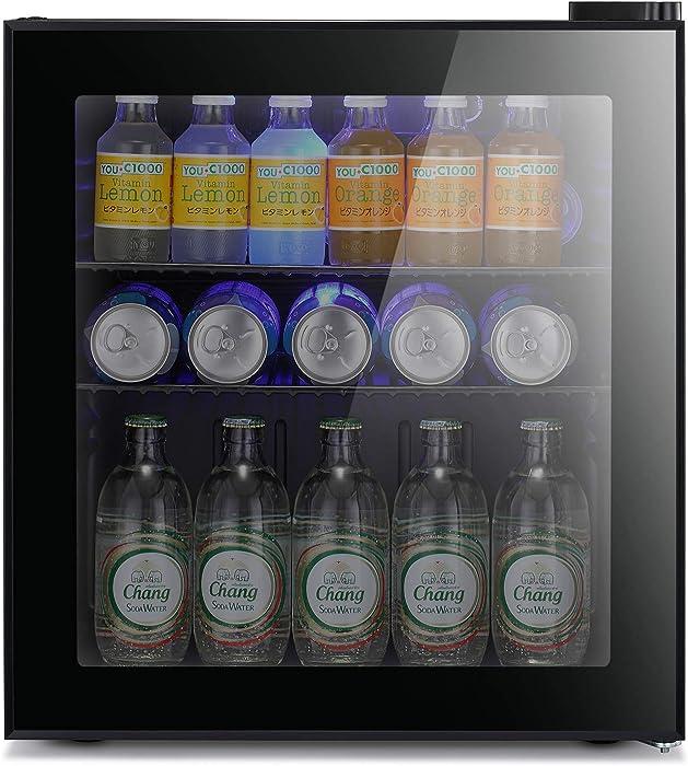 Top 10 Mini Beverage Fridge With Glass Door