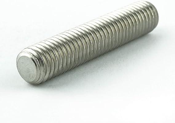 Gewindestifte M8x6 mit Innensechskant und Kegelkuppe 50 St/ück Madenschrauben ISO 4026 A2 Edelstahl