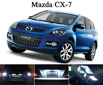 Captivating LED Lights For 2013 2015 Mazda CX 7 Xenon White License Plate/Tag