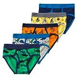B.GKAKA Little Boys Kids Briefs Underwear 5-Pack