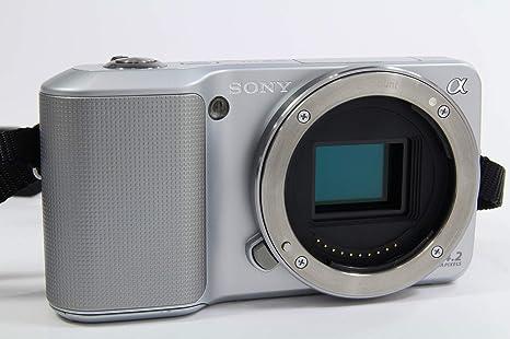 Sony Nex3 Silber Systemkamera Gehäuse Kamera