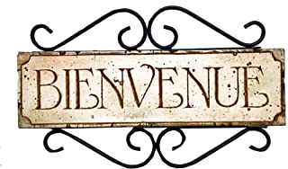 product image for Piazza Pisano Bienvenue French Door Sign