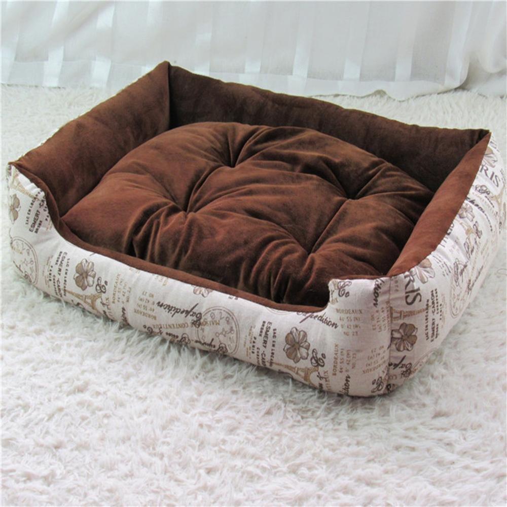 B YunYilian Pet Bolster Dog Bed Comfort Kennel Big Dog pet nest (color   B)