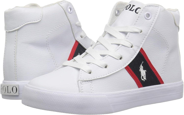 Polo Ralph Lauren Kids Geoff Mid Sneaker