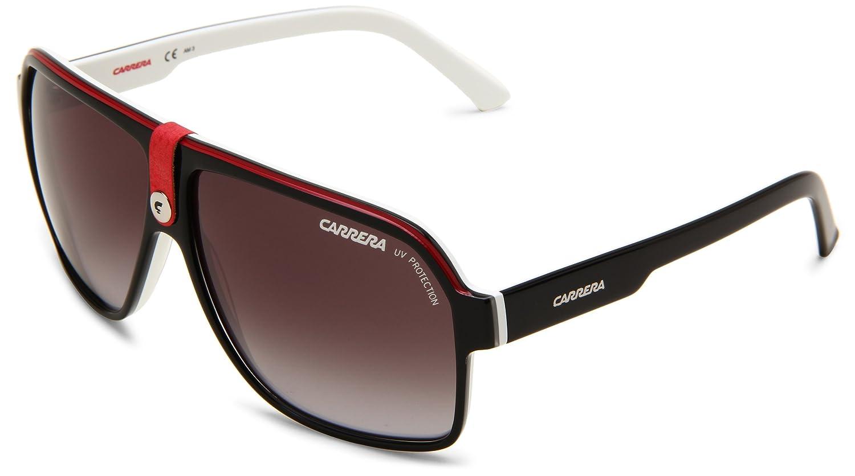 Carrera 33 S Aviator Sunglasses Black Crystal White Frame/Grey ...