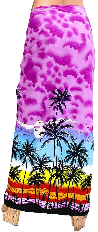 44404ac88d741f Badebekleidung Sarong Wickeln Bademode Badeanzug Badeanzug Verschleiern  Frauen Rock Pareo LA LEELA [1541642551-457847] - €6.64