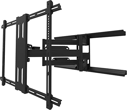 Kanto PDX700 Full Motion TV Wall Mount for 42-inch to 100-inch TVs Supports up to 150 lbs 68 kg Swivel up to 90 Tilt 15 -3 Black