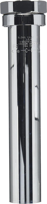 Sloan Valve V-500-AA-1129 1-1/2-Inch by 9-Inch Vacuum Breaker, Chrome