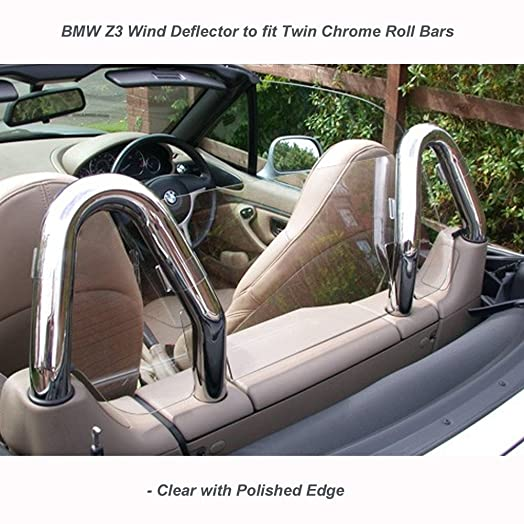 Wind Deflector Jrwdp007 Fits Twin Hoops Clear Perspex Amazon Co