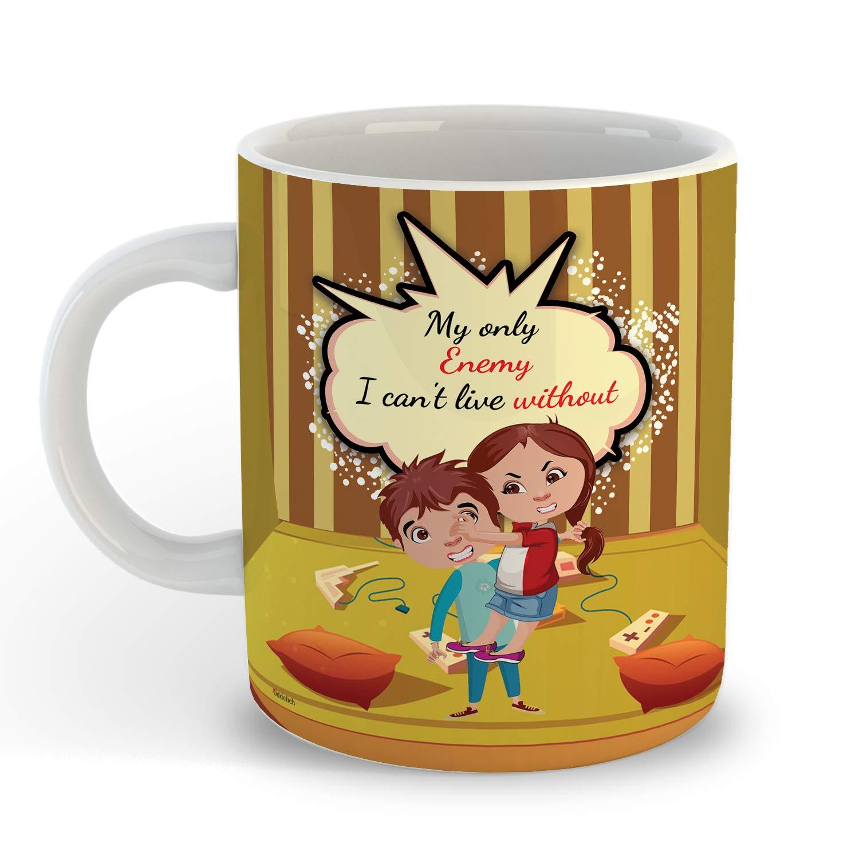 Buy Oddclick Bro Sis Design Rakhi Brother Sister Printed