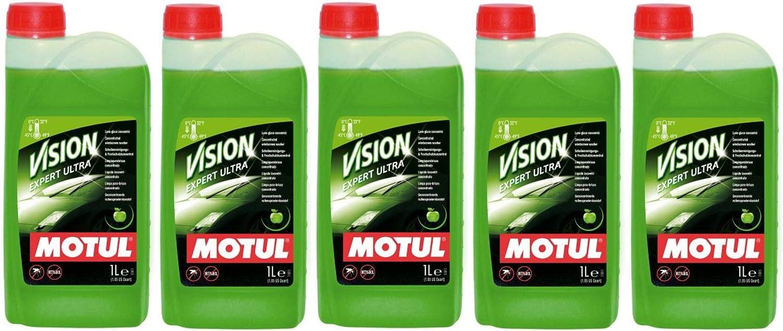 Motul Vision Expert Ultra - Limpiador concentrado para parabrisas (5 L): Amazon.es: Coche y moto