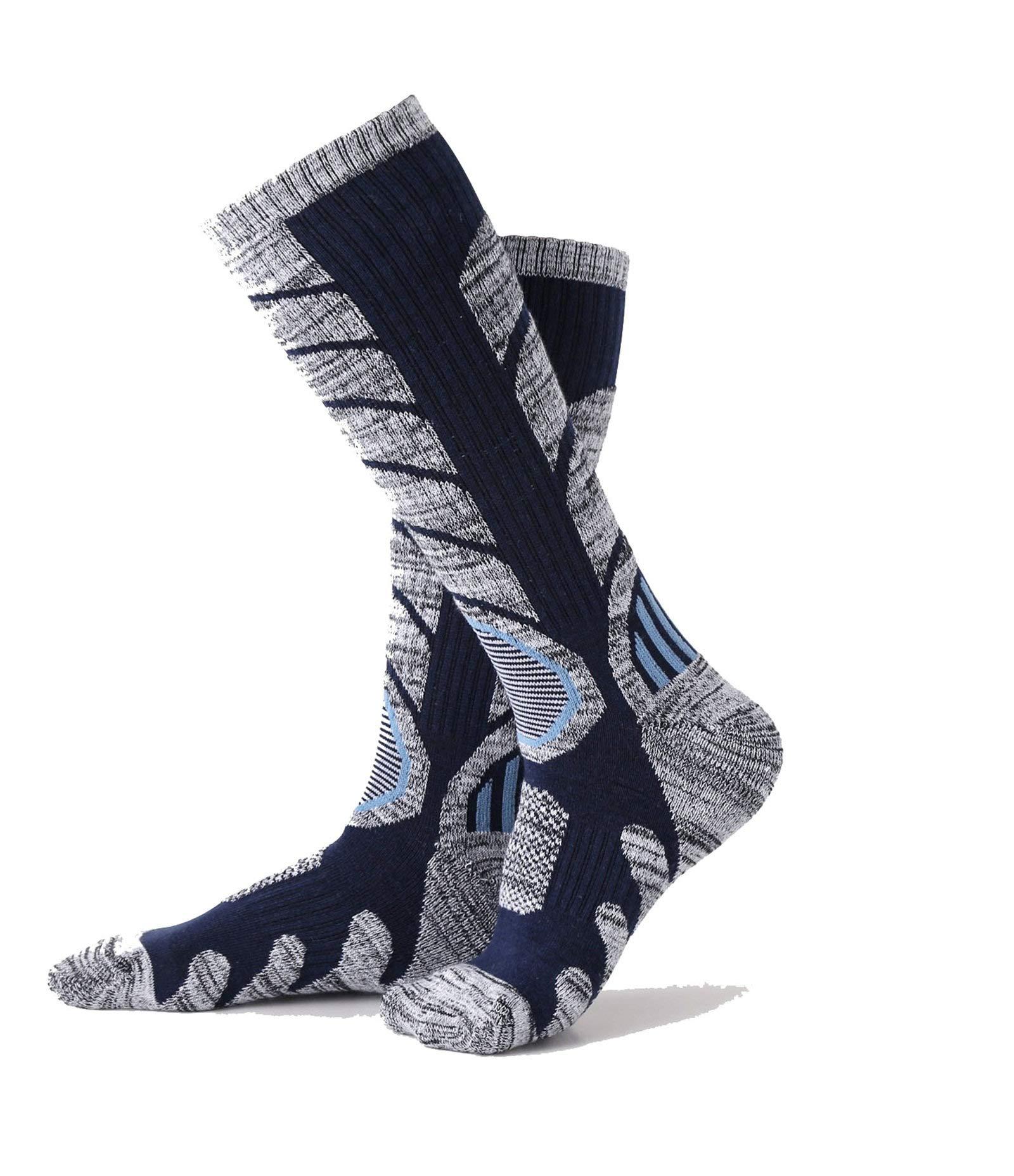 Socks Medium Long Towel Bottom Socks M Code Black Dark Gray Dark Blue Six Pairs of Each Color 2 Pairs