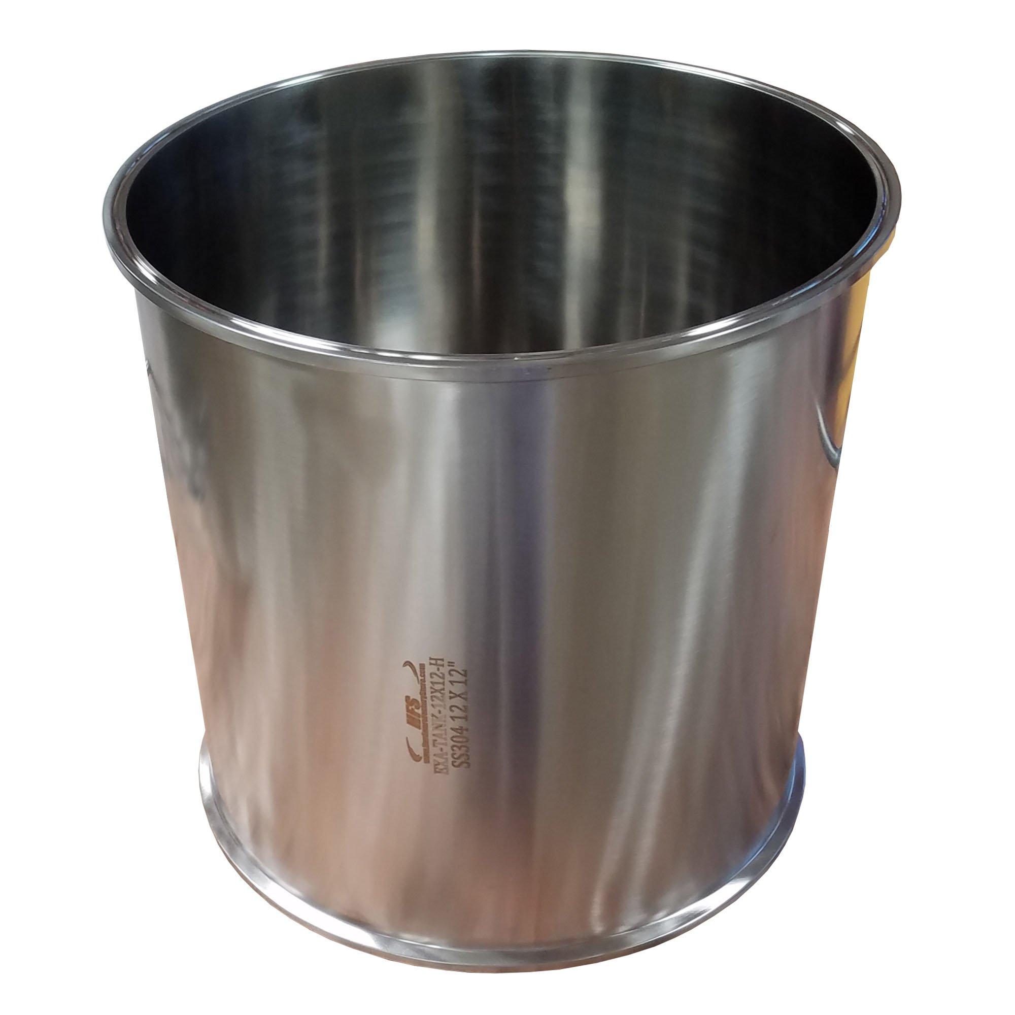 HFS (R) 6x12 Dia 6'' Length 12'' Sanitary Spool - Tri Clamp Clover Stainless Steel 304